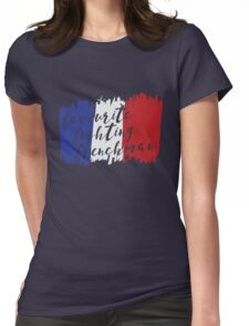 Fighting French Womens Fitted T-Shirt