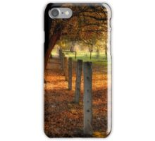 Autumn Day II iPhone Case/Skin