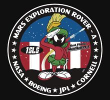 Marvin the Martian Mission Patch by GhostGravity