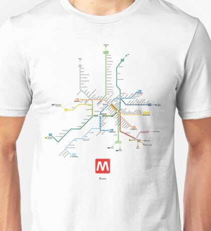 rome subway Unisex T-Shirt