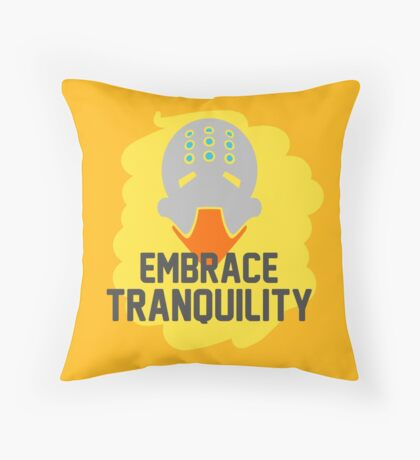 Embrace Tranquility Throw Pillow