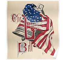 July 4th Liberty Bell  Poster