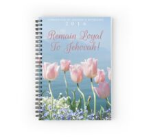 REMAIN LOYAL TO JEHOVAH! (Design no. 11) Spiral Notebook