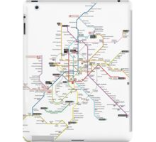 madrid subway iPad Case/Skin