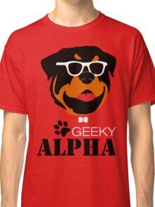 Geeky Alpha Classic T-Shirt