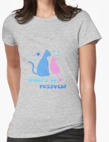 What's up pussycat Womens Fitted T-Shirt