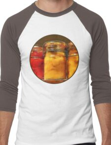 Canned Tomatoes and Peaches Men's Baseball ¾ T-Shirt