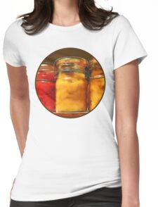 Canned Tomatoes and Peaches Womens Fitted T-Shirt