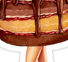 Hot Cakes - Chocolate Raspberry Sticker