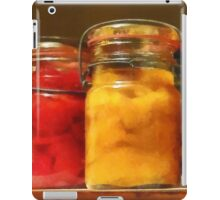 Canned Tomatoes and Peaches iPad Case/Skin
