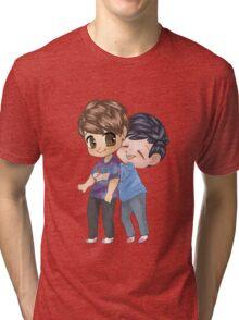 Dan and Phil Hugging Tri-blend T-Shirt