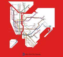 new york subway Baby Tee