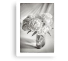 Peony Roses Metal Print