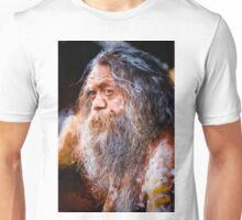 Aboriginal fullblood portrait Unisex T-Shirt