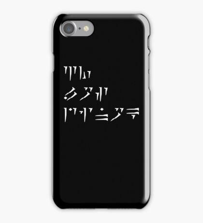 Zu'u los dinok - I am Death - IPod/IPhone Cases iPhone Case/Skin