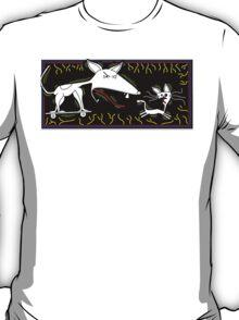 Dog Chasing Cat T-Shirt