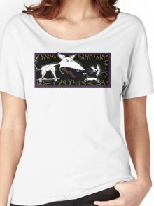 Dog Chasing Cat Women's Relaxed Fit T-Shirt