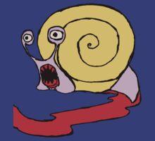 Snail rage by Monkeymo