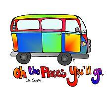 Volkswagon Bus Photographic Print