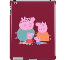 daddy pig and familly iPad Case/Skin