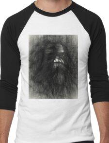 Australian aboriginal sketch Men's Baseball ¾ T-Shirt