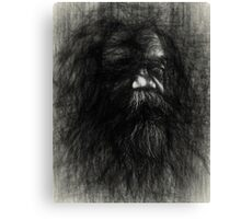 Australian aboriginal sketch Canvas Print