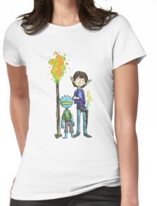 gavin and goblin... Womens Fitted T-Shirt