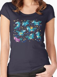 I believe in magic Women's Fitted Scoop T-Shirt