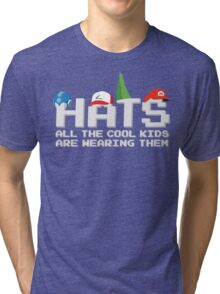 Cool Kids Wear Hats Tri-blend T-Shirt