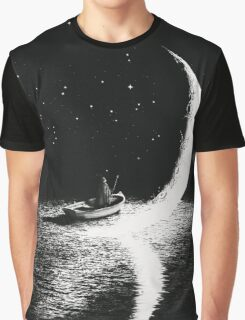 Arrival At Moonlight Graphic T-Shirt