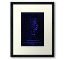 "Movie Poster - ""TERMINATOR"" (v3) Framed Print"