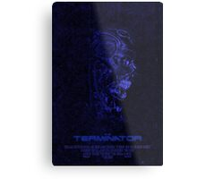 "Movie Poster - ""TERMINATOR"" (v3) Metal Print"