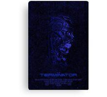 """Movie Poster - """"TERMINATOR"""" (v3) Canvas Print"""