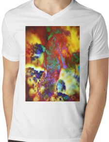 4497 Seahorse Mens V-Neck T-Shirt