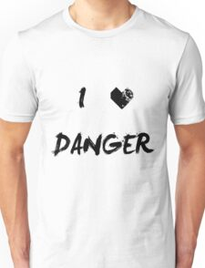 I Love Danger | Nordic Clothing Unisex T-Shirt