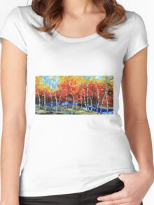 Poetry in motion Women's Fitted Scoop T-Shirt