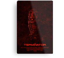 "Movie Poster - ""TERMINATOR"" (v1) Metal Print"