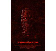 "Movie Poster - ""TERMINATOR"" (v1) Photographic Print"