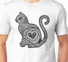 Cat Pop BW Unisex T-Shirt