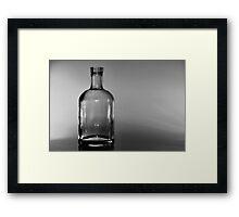 Bottle No.1 -TSS Framed Print