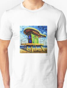 Only in Miami by Lisa Elley Unisex T-Shirt
