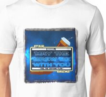 May the Brew be with You (Feel the Caffeine Flow)- The Coffee Wars - Jeronimo Rubio Photography and Art 2016 Unisex T-Shirt