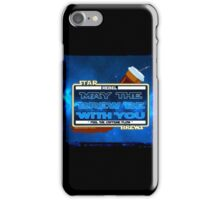 May the Brew be with You (Feel the Caffeine Flow)- The Coffee Wars - Jeronimo Rubio Photography and Art 2016 iPhone Case/Skin