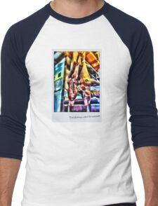 This lill' piggy  Men's Baseball ¾ T-Shirt