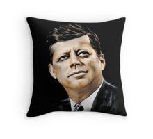 """John Fitzgerald """"Jack"""" Kennedy Throw Pillow"""