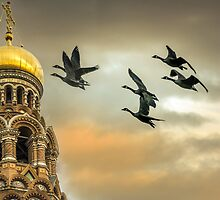 Take me to the Golden Domes  by LudaNayvelt