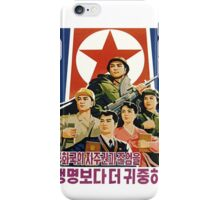 North Korean Propaganda iPhone Case/Skin