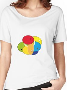 Round Eyes Women's Relaxed Fit T-Shirt