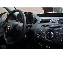 Mazdaspeed 3 Steering Wheel Photographic Print