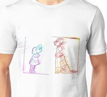 Alice and the Queen Unisex T-Shirt